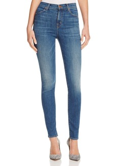 J Brand Maria High Rise Skinny Jeans in Identity