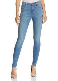 J Brand Maria High-Rise Skinny Jeans in Influential