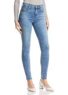 J Brand Maria High Rise Skinny Jeans in Meteor