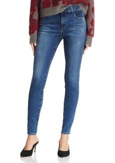 J Brand Maria High-Rise Skinny Jeans in Polaris