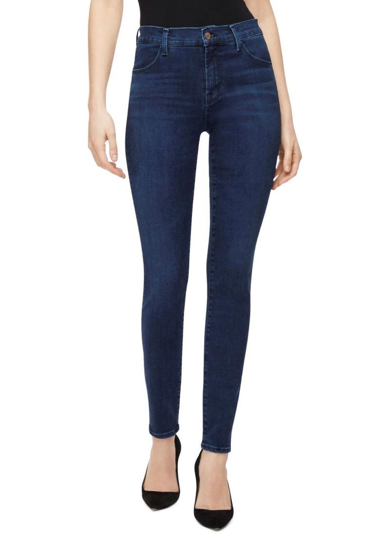 J Brand Maria High-Rise Skinny Jeans in Radiowave