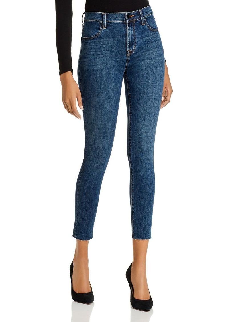 J Brand Maria High-Rise Skinny Jeans in Revival