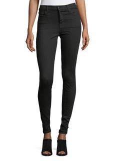 J Brand Maria High-Rise Skinny-Leg Jeans