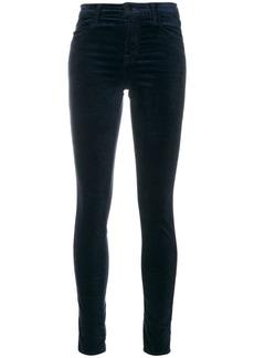 J Brand Maria high rise skinny trousers