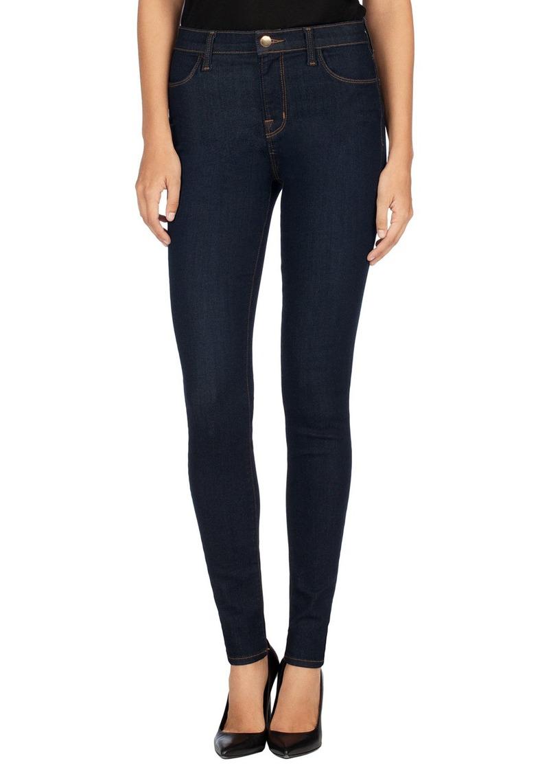 J Brand Maria High-Rise Super-Skinny Jeans  After Dark