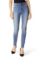 J Brand Maria High Waist Raw Hem Skinny Jeans (Vega)