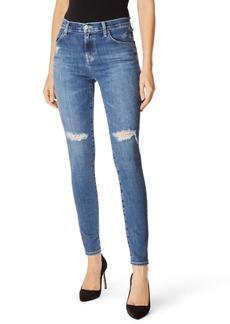 J Brand Maria High Waist Skinny Jeans (Motion)