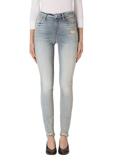 J Brand Maria High Waist Skinny Jeans (Remnant Destruct)