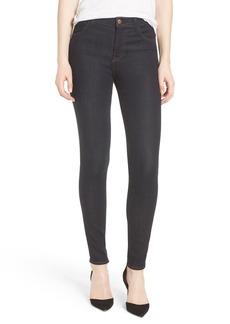 J Brand Maria High Waist Super Skinny Jeans (Dark Twilight)
