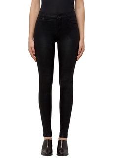 J Brand Maria High Waist Velvet Skinny Jeans (Crystalline)