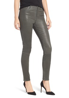 J Brand 'Maria' Lambskin Leather Leggings