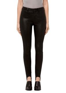 J Brand Maria Leather Stirrup Leggings