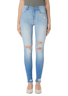 J Brand Maria Ripped High Rise Skinny Jeans (Superstar Destruct)