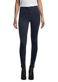 J BRAND Maria High-Rise Velvet Jeans