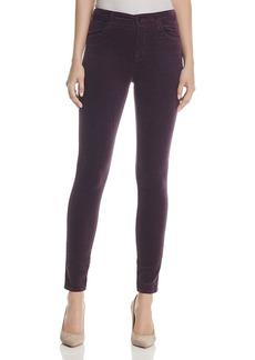 J Brand Maria Velvet Skinny Jeans