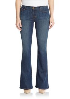 J BRAND Martini Skinny Flared Jeans