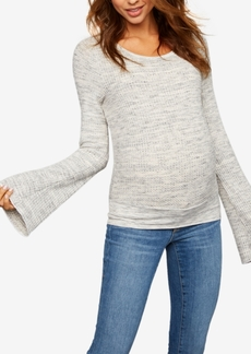 J Brand Maternity Bell-Sleeve Top