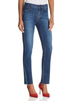 J Brand Maude Cigarette Jeans in Belladonna