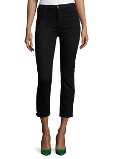 J Brand Maude High-Rise Crop Skinny Jeans