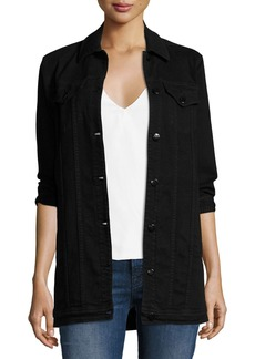 J Brand Maxi Denim Jacket