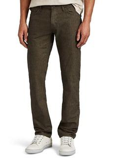 J Brand Men's Kane Cotton-Blend Straight Trousers