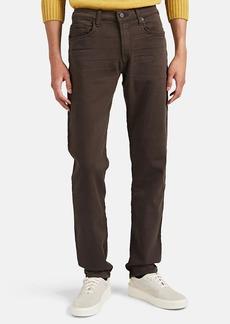 J Brand Men's Kane Cotton-Blend Terry Slim-Straight Jeans