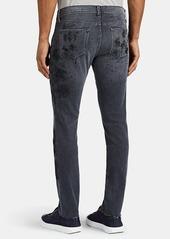 J Brand Men's Mick Paint-Splatter Skinny Jeans