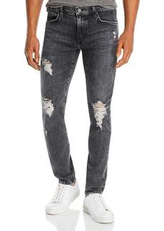 J Brand Mick Skinny Fit Jeans in Floritus Black
