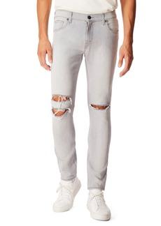 J Brand Mick Skinny Fit Ripped Jeans (Greystripe Oak)