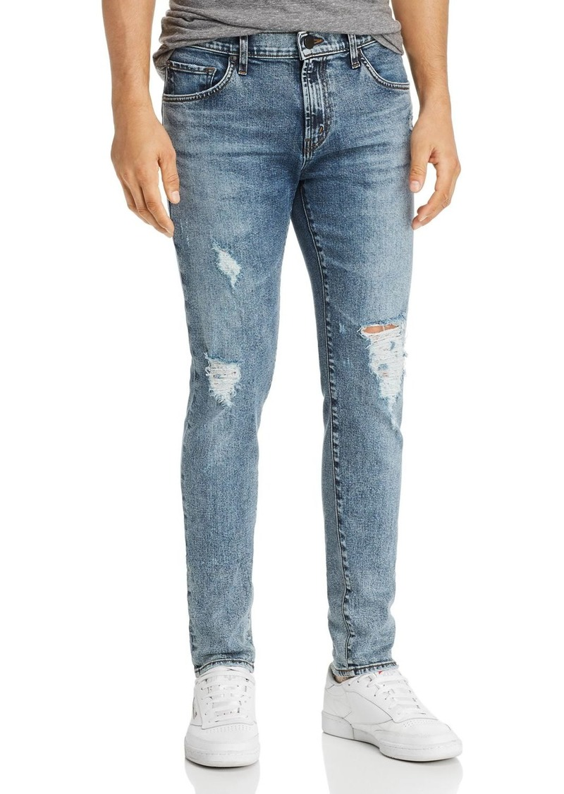 J Brand Mick Super Skinny Fit Jeans in Floritus