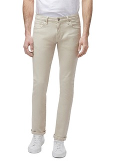 J Brand Mick Tapered Skinny Fit Jeans in Sandstendo