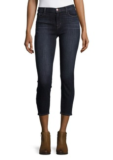 J BRAND Mid-Rise Capri Jeans
