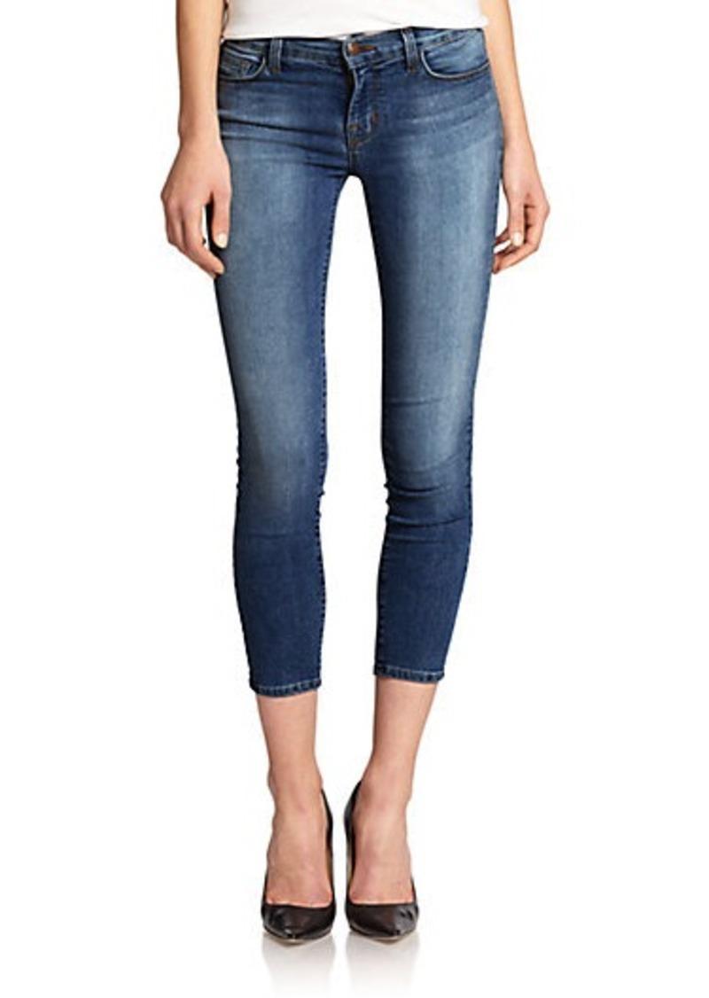 j brand j brand mid rise capri jeans denim shop it to me. Black Bedroom Furniture Sets. Home Design Ideas