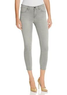 J Brand Mid Rise Capri Jeans in Dusk Haze