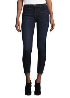 J BRAND Mid-Rise Distressed Jeans