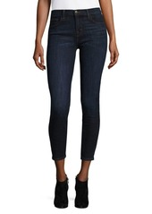 J Brand 835 Mid-Rise Crop Jeans