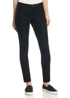 J Brand Mid Rise Skinny Corduroy Jeans in Black