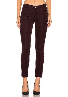J Brand Mid Rise Skinny in Wine. - size 24 (also in 26,27,30)