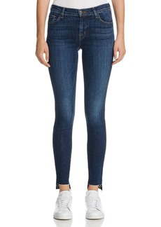J Brand Mid Rise Skinny Jeans in Mesmeric