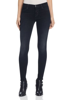 J Brand Mid Rise Super Skinny Jeans in Defiance