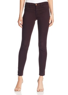 J Brand Mid Rise Super Skinny Jeans in Snifter