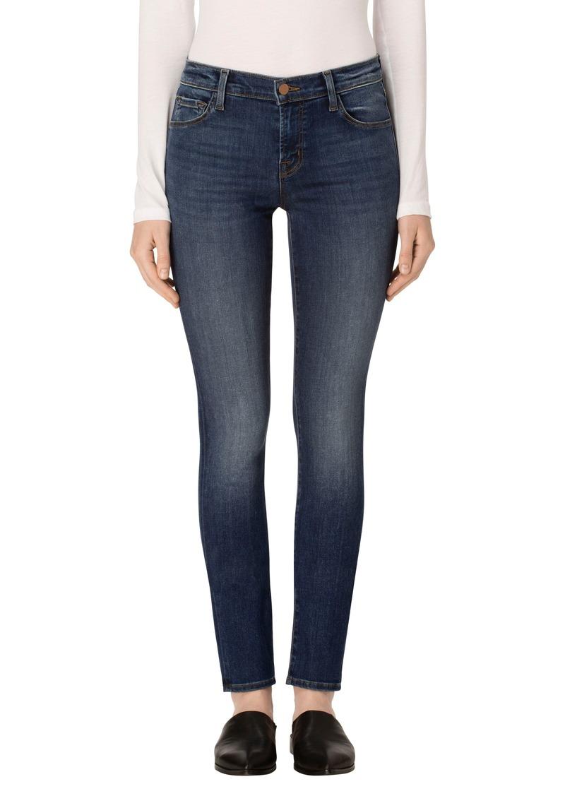 34aed9130e8c J Brand J Brand Mid Rise Super Skinny Jeans (Surrey Lane)   Denim
