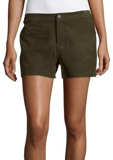 J BRAND Mila Lambskin Leather Shorts