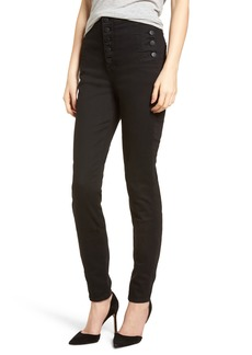 J Brand Natasha Photoready High Waist Skinny Jeans (Vanity) (Nordstrom Exclusive)