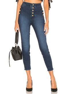 J Brand Natasha Sky High Crop Skinny