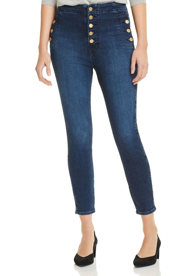 J Brand Natasha Sky High Crop Skinny Jeans in Untamed