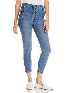 J Brand Natasha Sky High Crop Skinny Jeans in Vega
