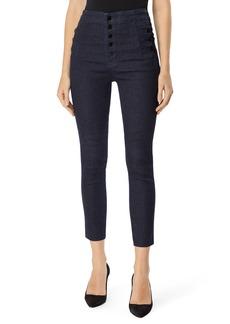 J Brand Natasha Sky High Crop Skinny Jeans (Realm)