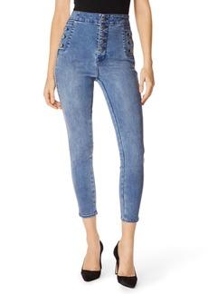 J Brand Natasha Sky High Crop Skinny Jeans (Vega)