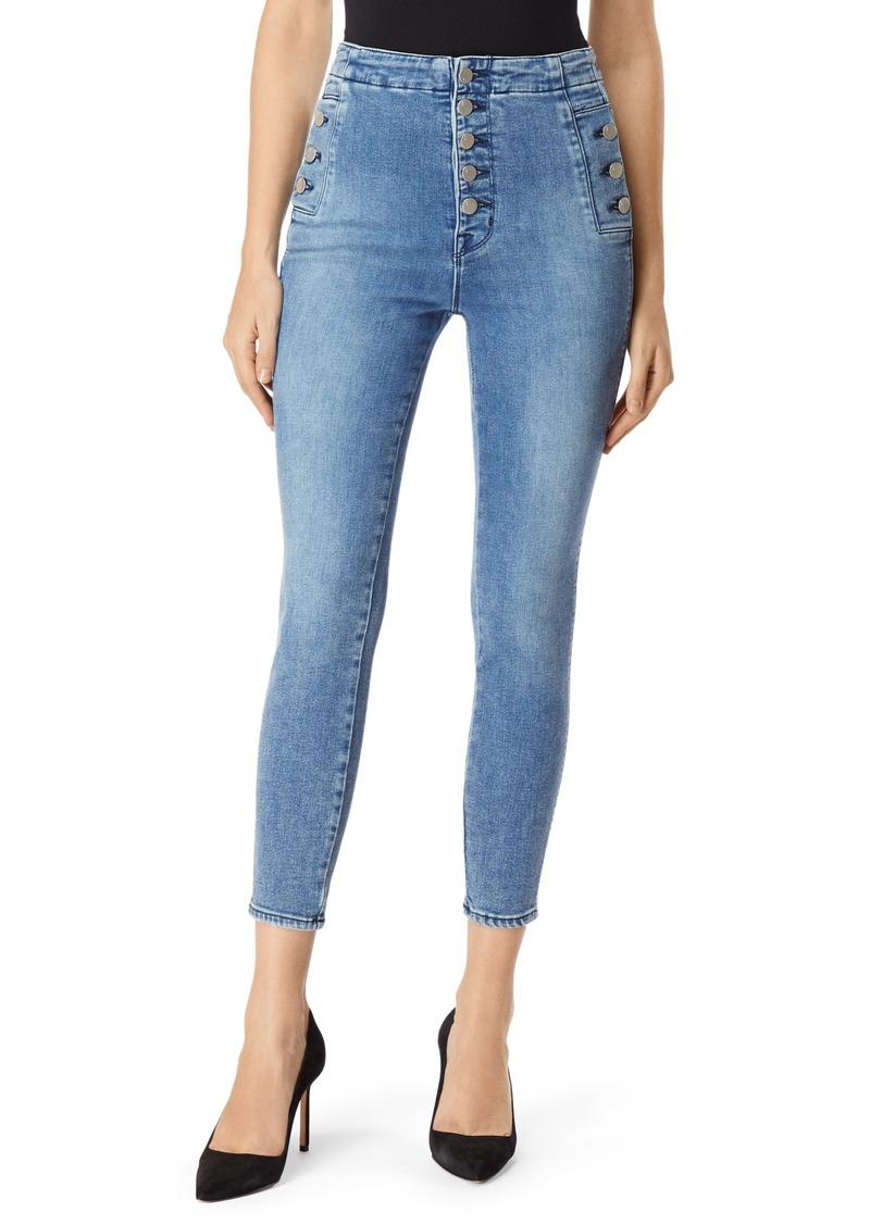 b0b1c3277069 J Brand J Brand Natasha Sky High Crop Super Skinny Jeans (Meteor ...
